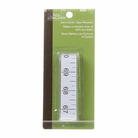 Tape measure zero center