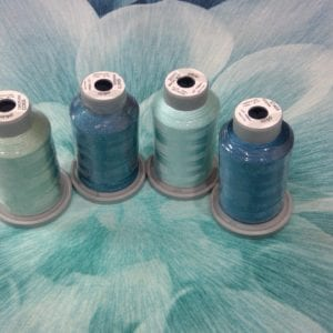 Turquoise thread kit only