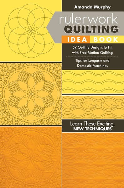 Ruler work Quilting Idea Book