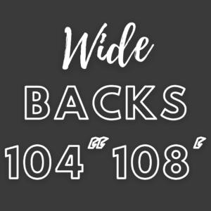 Wide Backs